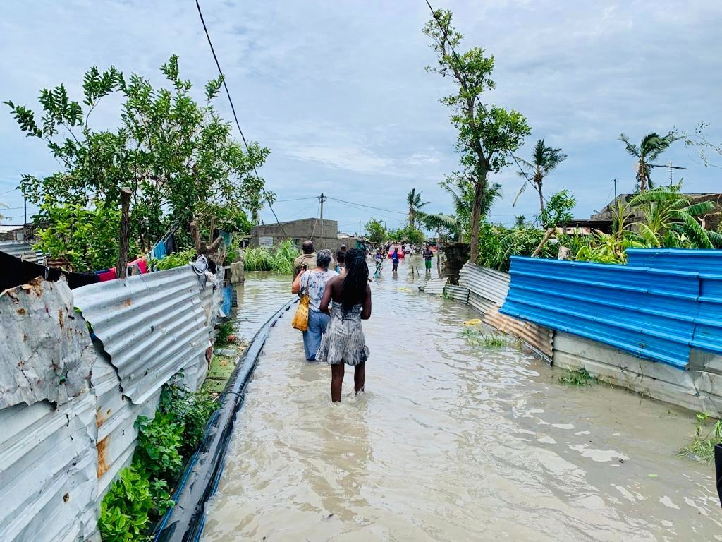 Devastating Effects of Cyclone Eloise: 250.000 People in Need for Support