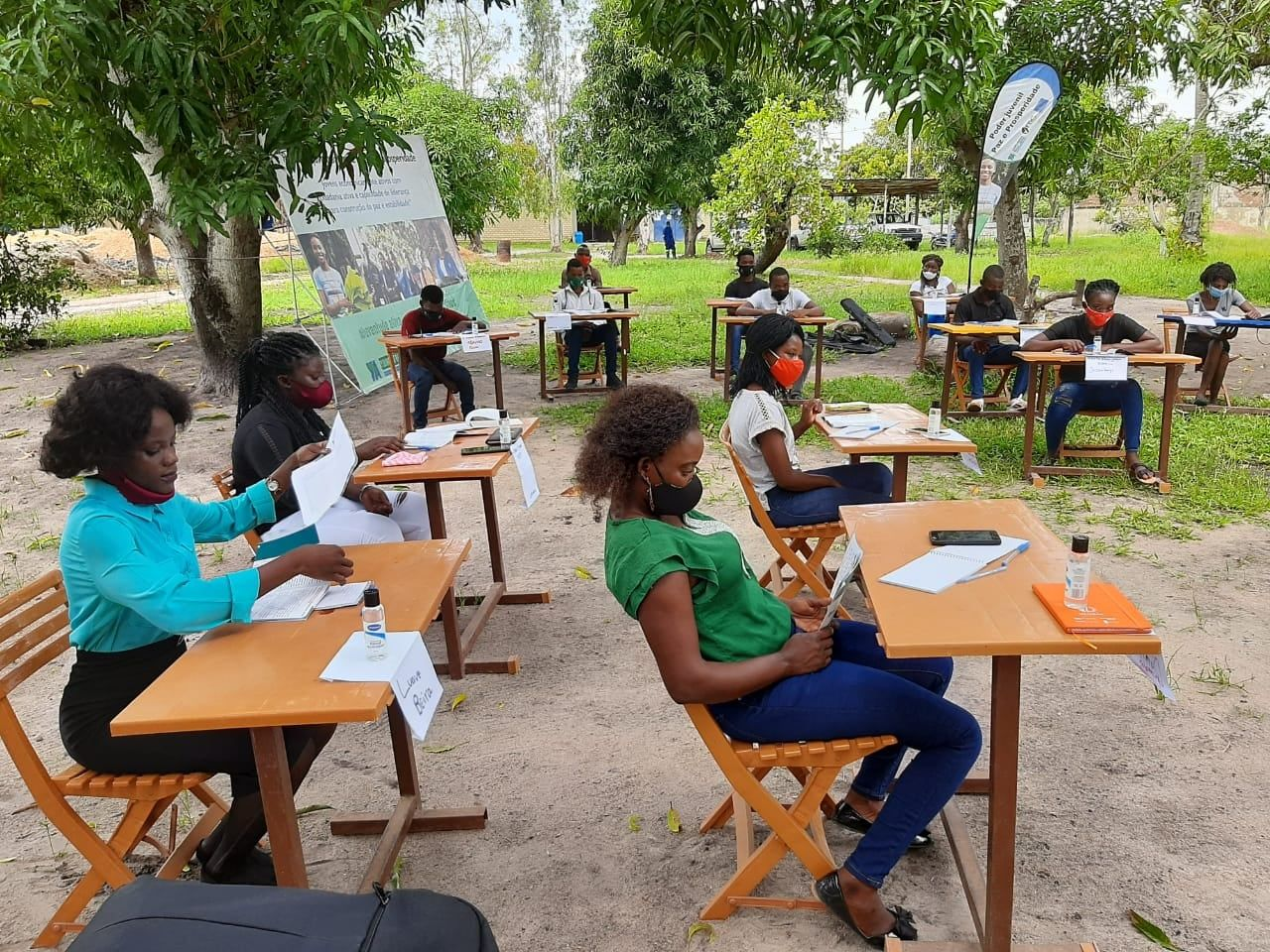 Young Africa Mozambique Loves To Train Youth