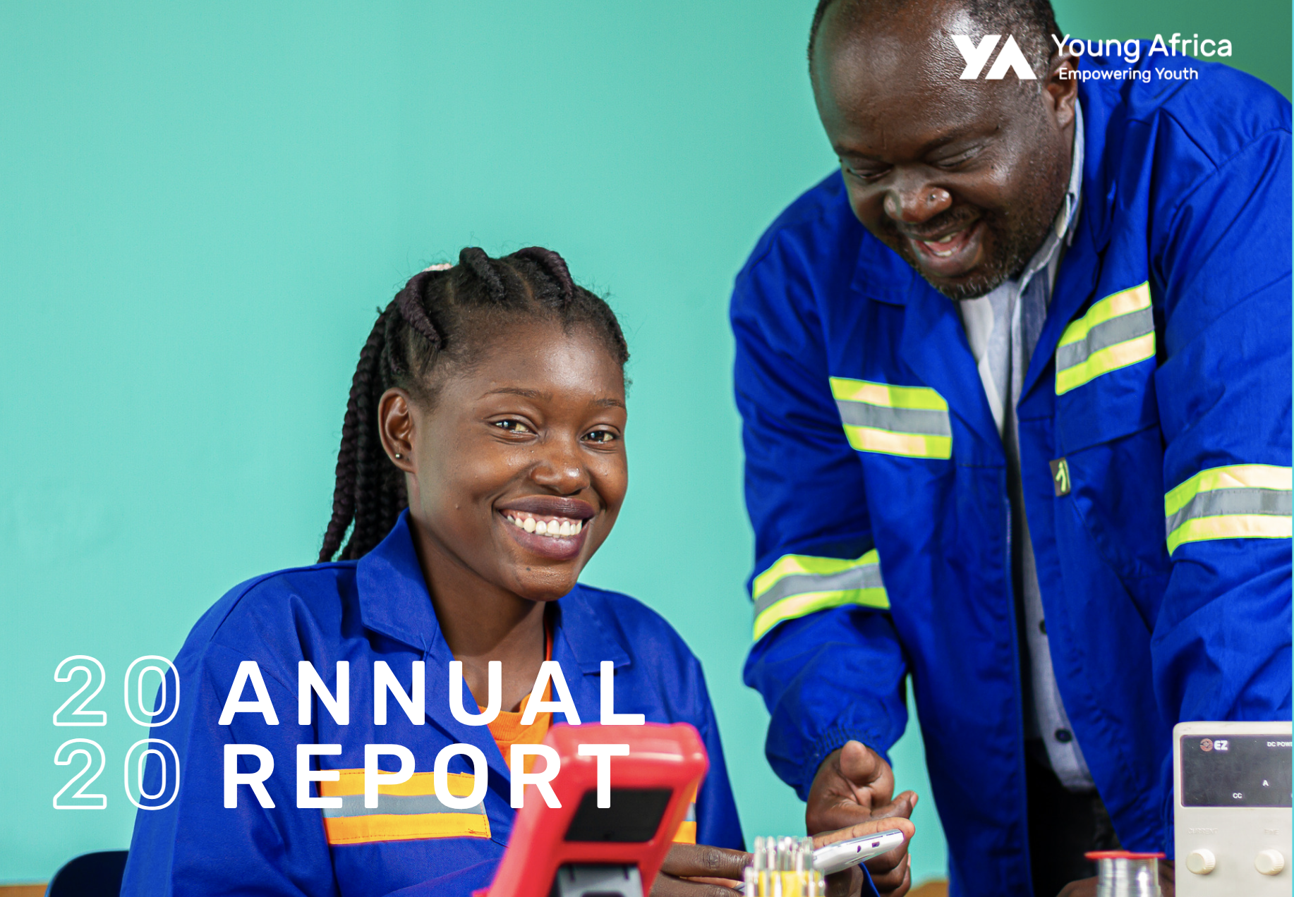 The Young Africa Annual Report 2020 Is Out Now